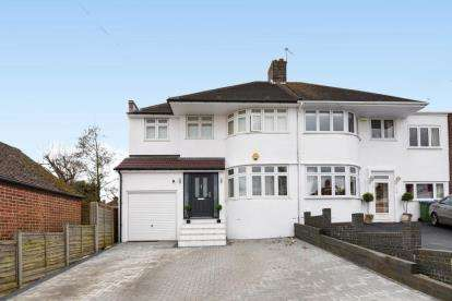 4 Bedrooms Semi Detached House for sale in Brownspring Drive, London