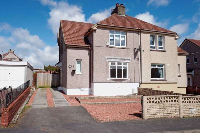 3 Bedrooms Semi Detached House for sale in Firhill Avenue, Cairnhill, Airdrie, North Lanarkshire, ML6 9DZ