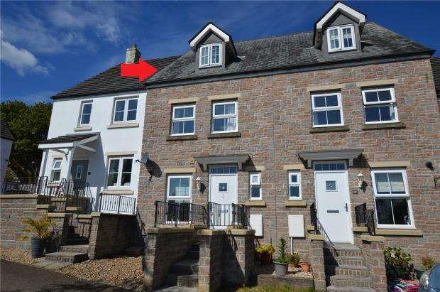 3 Bedrooms Terraced House for sale in Carnglaze Close, Liskeard, Cornwall