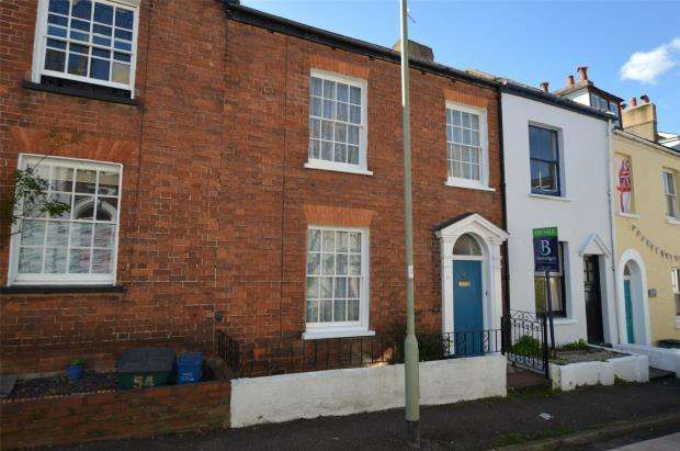 2 Bedrooms Terraced House for sale in Bicton Street, Exmouth, Devon