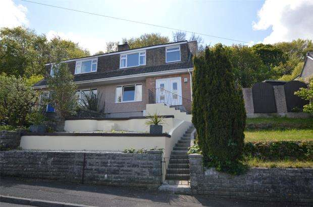 4 Bedrooms Semi Detached House for sale in Copse Road, Plymouth, Devon