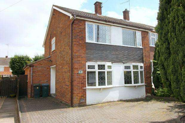 3 Bedrooms Semi Detached House for sale in Lambourne Close, Mount Nod, Coventry