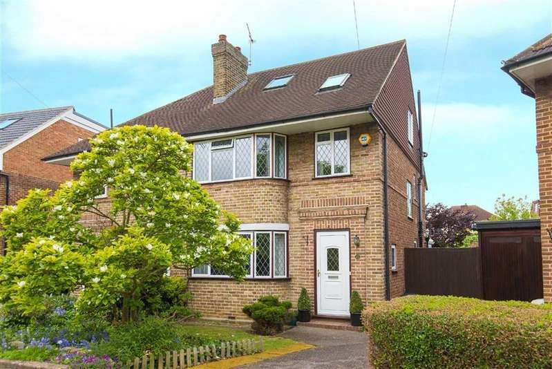 4 Bedrooms Semi Detached House for sale in St James Close, Eastcote