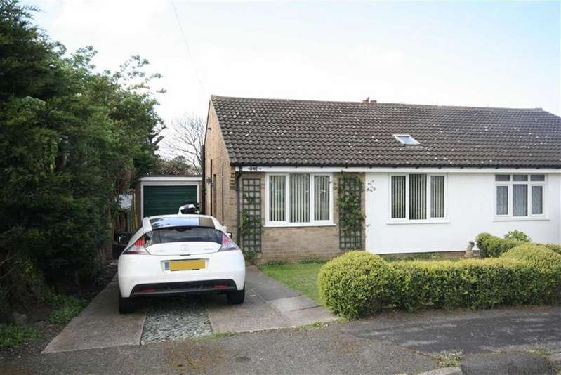 2 Bedrooms Semi Detached Bungalow for sale in View Road, Peacehaven
