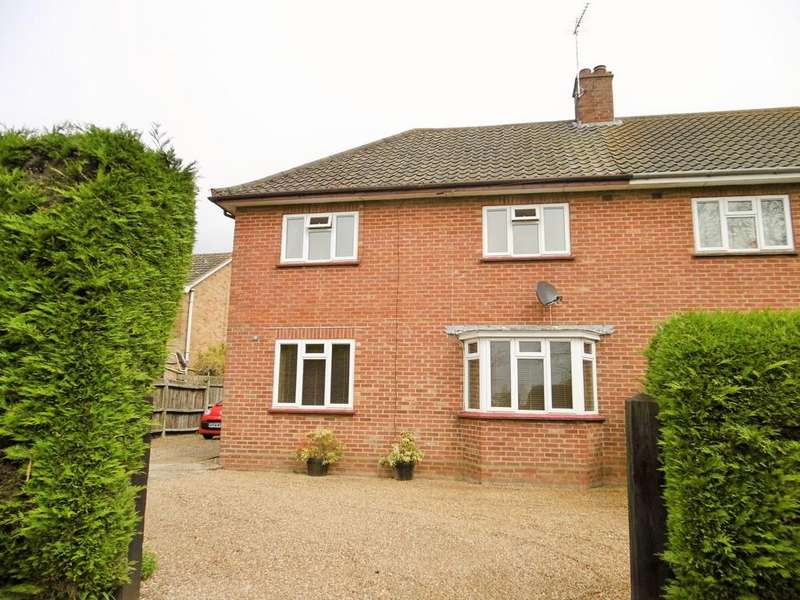 3 Bedrooms Semi Detached House for sale in Cawston