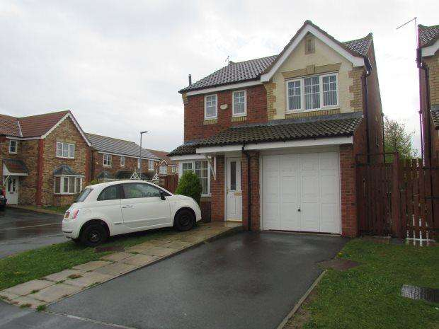 3 Bedrooms Detached House for sale in SEDGEWICK CLOSE, WEST VIEW, HARTLEPOOL