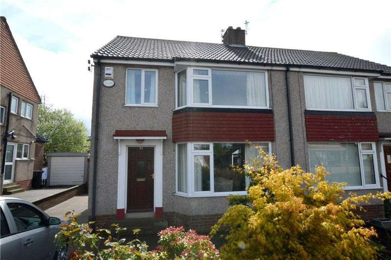 3 Bedrooms Semi Detached House for sale in Chatsworth Road, Pudsey, West Yorkshire