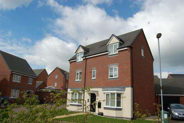 4 Bedrooms Detached House for sale in Albert Road, Countesthorpe, Leicester, LE8
