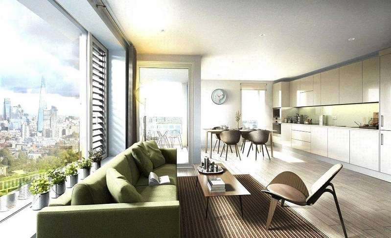 3 Bedrooms Flat for sale in Elephant Park, Elephant Castle, London, SE1