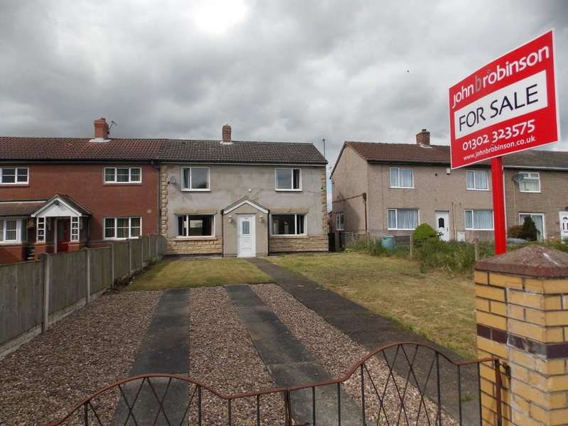 3 Bedrooms Semi Detached House for sale in East Lane, Stainforth