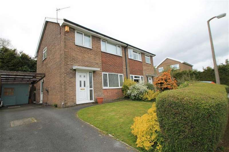 3 Bedrooms Semi Detached House for sale in Caer Efail, Bwlchgwyn, Wrexham