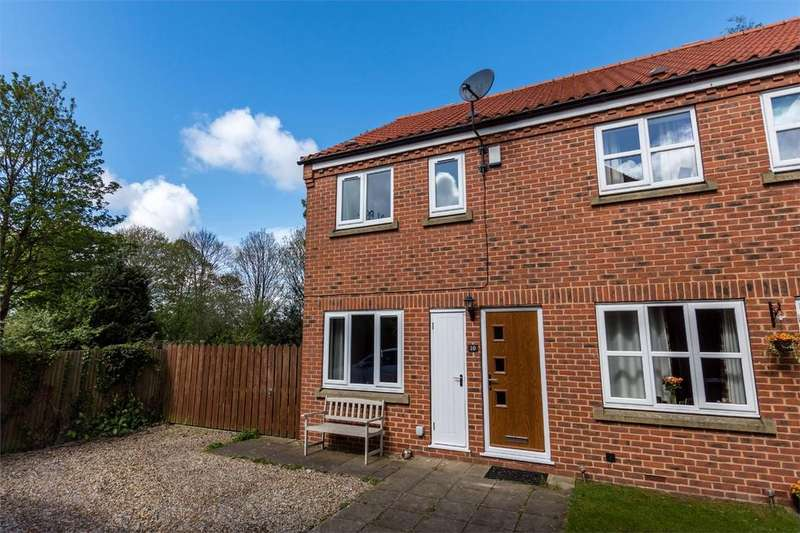 2 Bedrooms End Of Terrace House for sale in Foss Court, Huntington, York