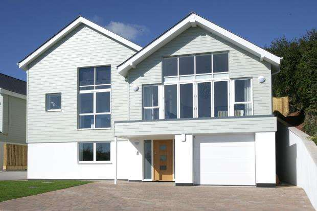 4 Bedrooms Detached House for sale in Picket Head Hill, Shaldon, Devon
