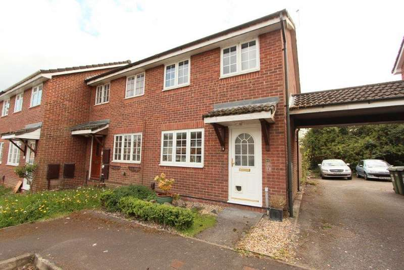 2 Bedrooms End Of Terrace House for sale in Stirling Crescent, Grange Park SO30