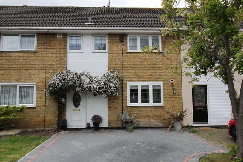 3 Bedrooms Terraced House for sale in The Upway, Basildon, Essex, SS14