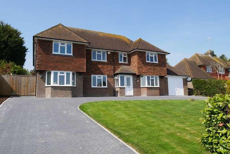 4 Bedrooms Detached House for sale in Warren Lane, Friston, Eastbourne, BN20