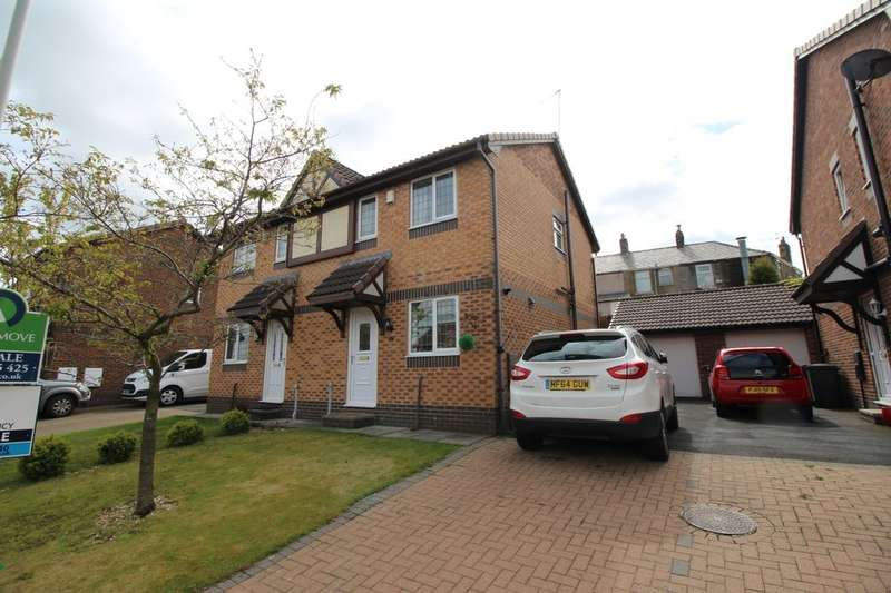 2 Bedrooms Semi Detached House for sale in Mitton Close, Blackburn, BB2