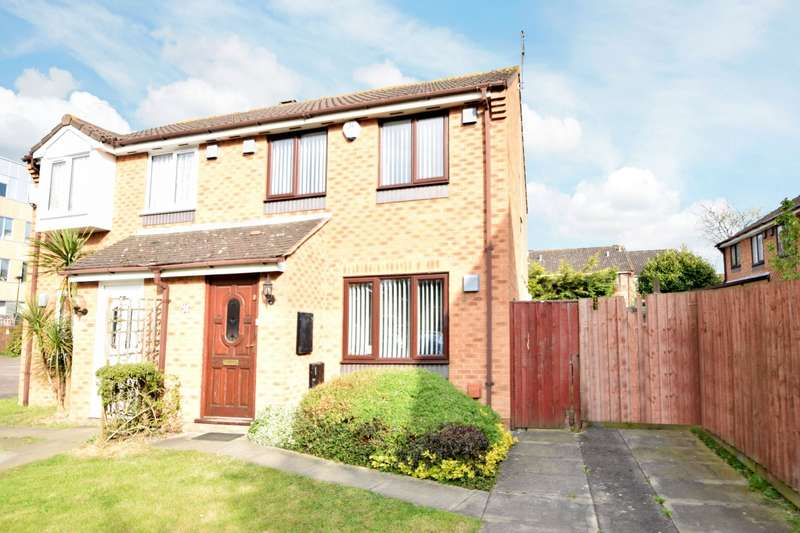 3 Bedrooms Semi Detached House for sale in Pearl Gardens, Cippenham, SL1