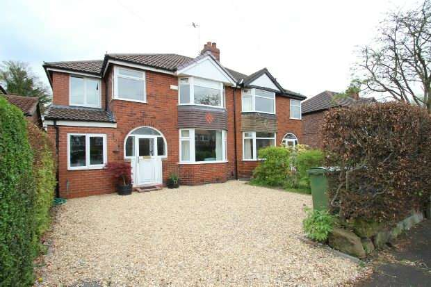 5 Bedrooms Semi Detached House for sale in Woodhouse Lane East, Timperley