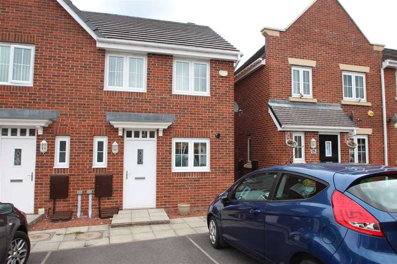 2 Bedrooms End Of Terrace House for sale in Arkless Grove, Consett
