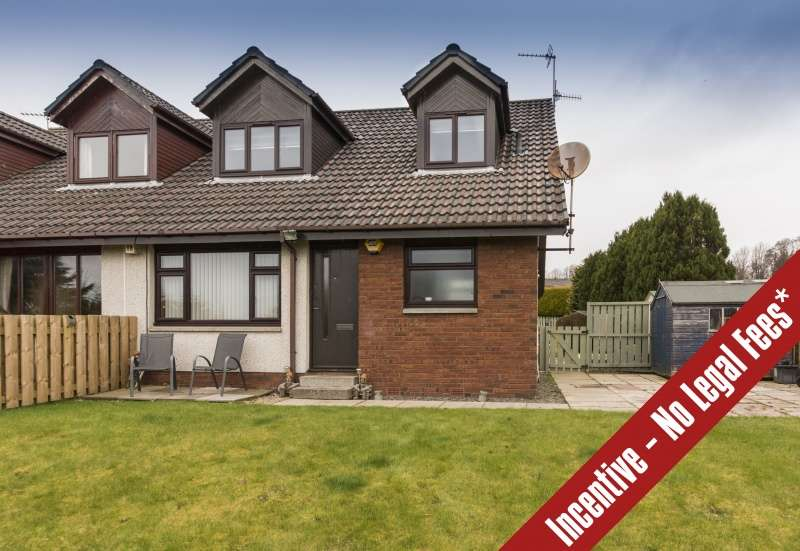 2 Bedrooms Semi-detached Villa House for sale in Johns Park Place, Danestone, Aberdeen, Aberdeenshire, AB22 8QL