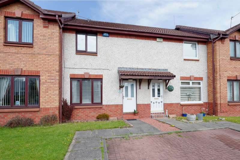 2 Bedrooms Terraced House for sale in Kingfisher Drive, Knightswood, Glasgow, G13 4QA
