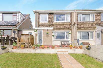 4 Bedrooms Semi Detached House for sale in Tolvaddon, Camborne, Cornwall