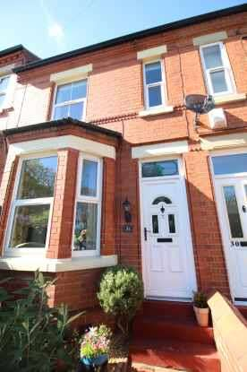 2 Bedrooms Terraced House for sale in Bellevue Road, Wrexham, Clwyd, LL13 7NH