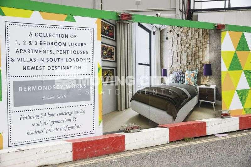 2 Bedrooms Flat for sale in Bermondsey Works, 4 Verney Road, Bermondsey, SE16