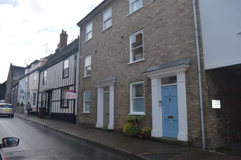3 Bedrooms Town House for sale in Whiting Street, Bury St. Edmunds