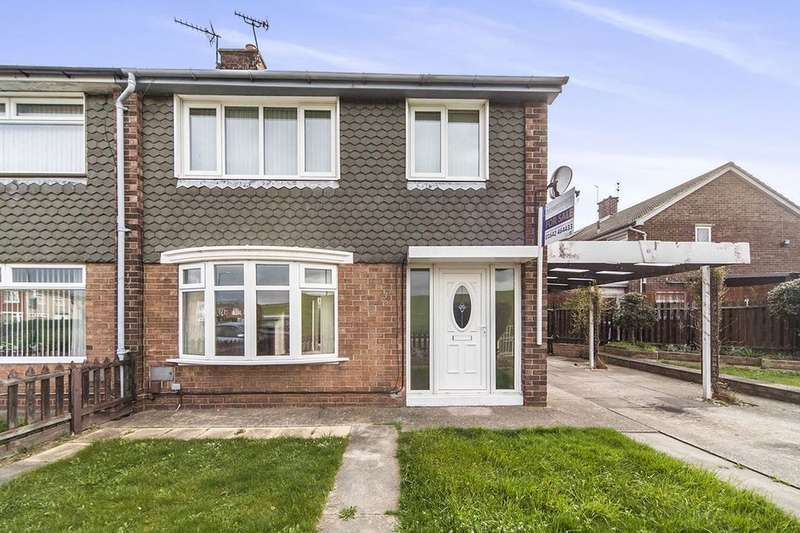 2 Bedrooms Semi Detached House for sale in Sandsend Road, Middlesbrough, TS6