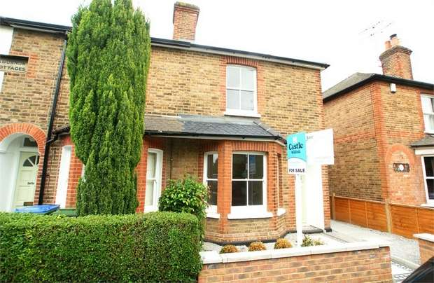 2 Bedrooms End Of Terrace House for sale in Anyards Road, Cobham, Surrey