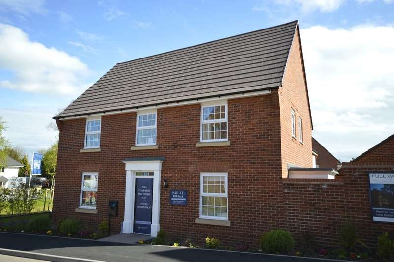 4 Bedrooms Detached House for sale in Montgomery Place, Morda Road, Oswestry, SY10