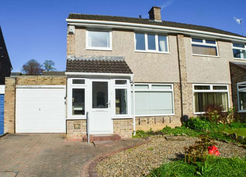 3 Bedrooms Semi Detached House for sale in Birkdene, Stocksfield, NE43