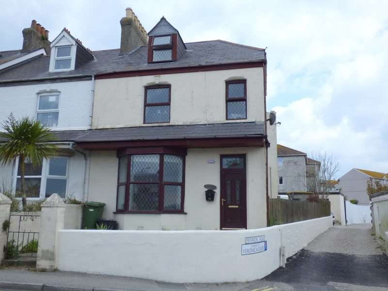 4 Bedrooms End Of Terrace House for sale in Trenance Road, Newquay