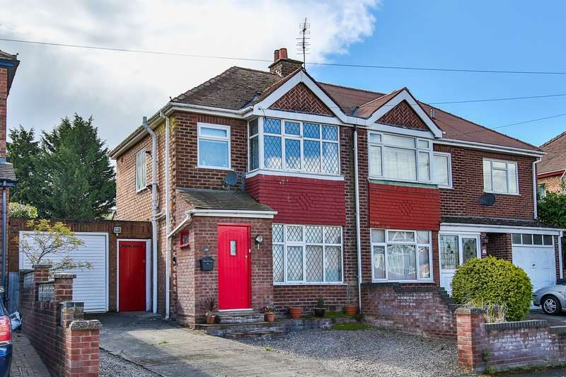 3 Bedrooms Semi Detached House for sale in Bailey Brook Road, Hereford, Herefordshire, HR2