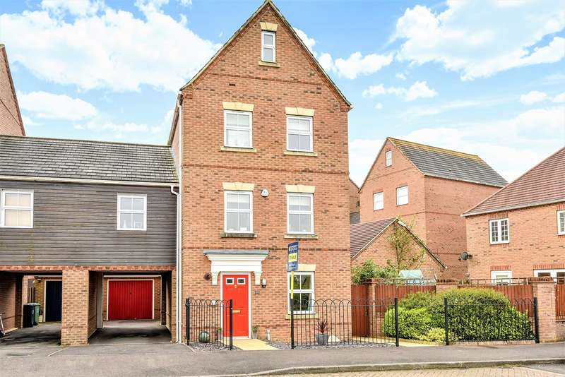 4 Bedrooms Link Detached House for sale in Whitgift Close, Beggarwood, Basingstoke, RG22