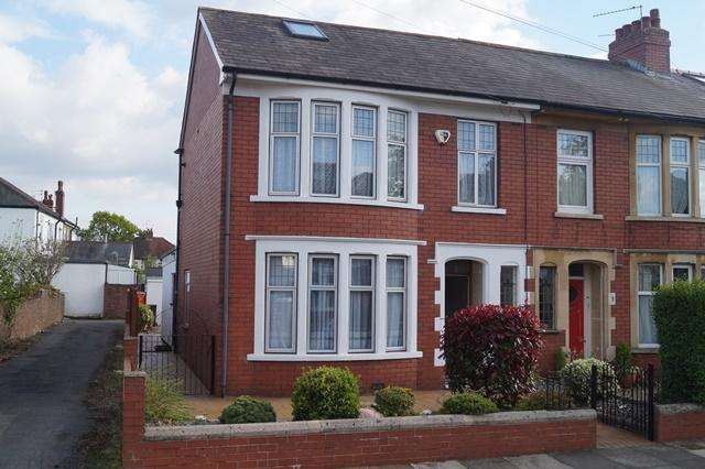 4 Bedrooms End Of Terrace House for sale in Waun-Y-Groes Road, Rhiwbina, Rhiwbina, Cardiff CF14