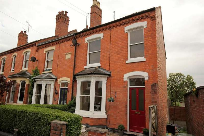 3 Bedrooms End Of Terrace House for sale in Townsend Street, Barbourne, Worcester