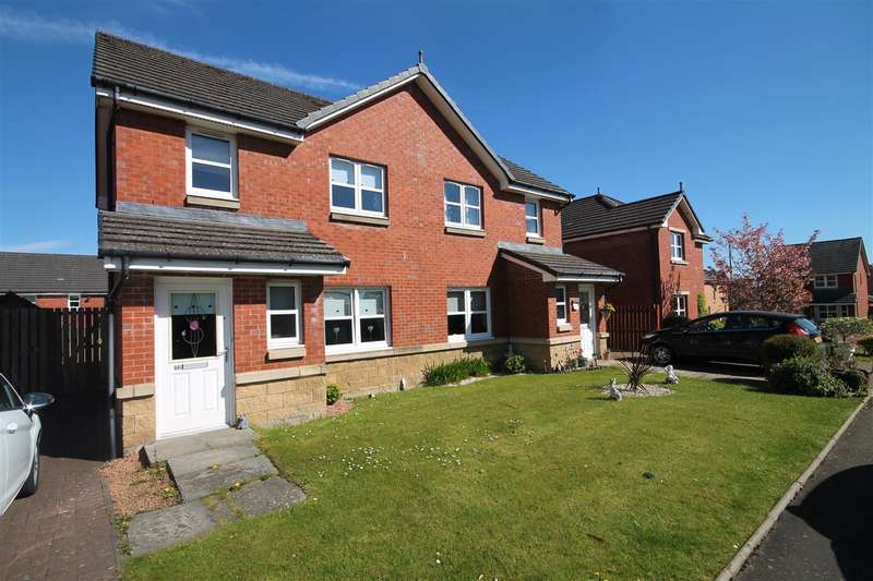 3 Bedrooms Semi Detached House for sale in Brambling Road, Coatbridge