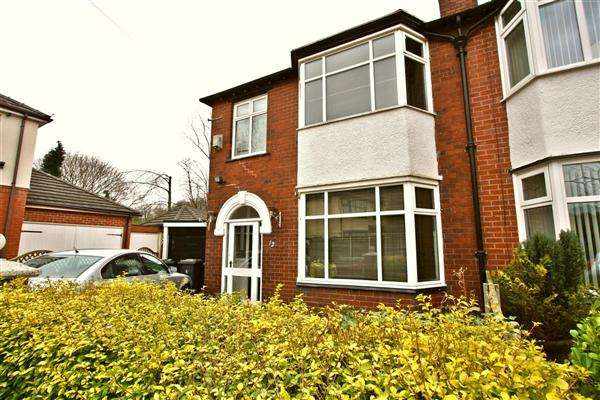 3 Bedrooms Semi Detached House for sale in Sandylands Drive, Prestwich