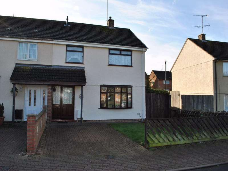 3 Bedrooms End Of Terrace House for rent in Bonnington Walk, Corby, Northamptonshire