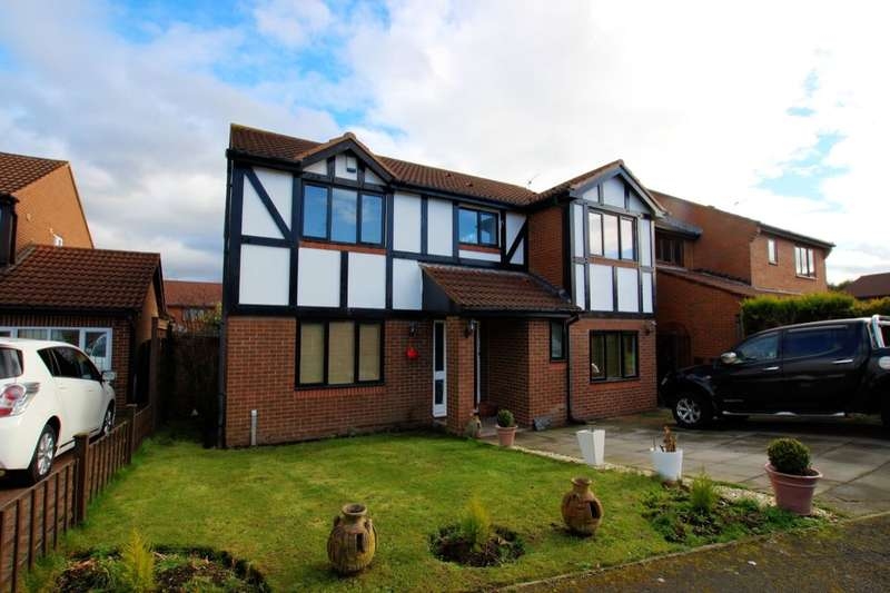 5 Bedrooms Detached House for sale in Beaver Close, Durham, DH1