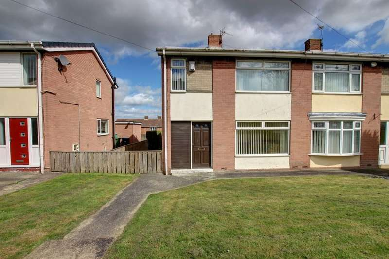 2 Bedrooms Semi Detached House for sale in Gore Hill Estate, Thornley, Durham, DH6