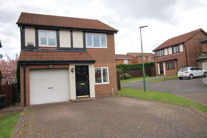 3 Bedrooms Detached House for sale in Brackenbeds Close, Chester Le Street, DH2