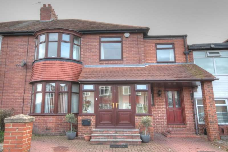 4 Bedrooms Semi Detached House for sale in Fowberry Crescent, Fenham, Newcastle Upon Tyne, NE4