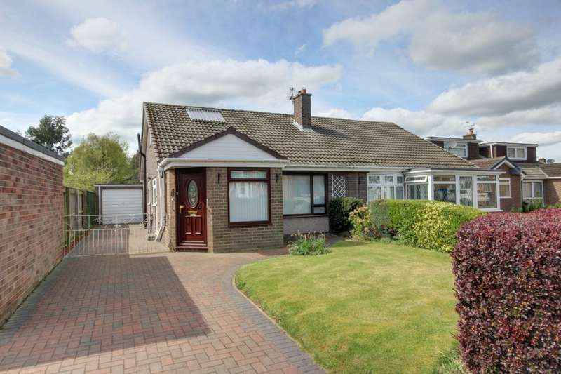 2 Bedrooms Semi Detached Bungalow for sale in Willow Road, Houghton Le Spring, DH4