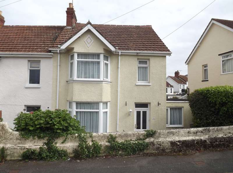 4 Bedrooms End Of Terrace House for sale in Leys Road, Chelston, Torquay