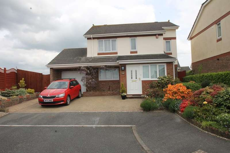 3 Bedrooms Detached House for sale in Elburton