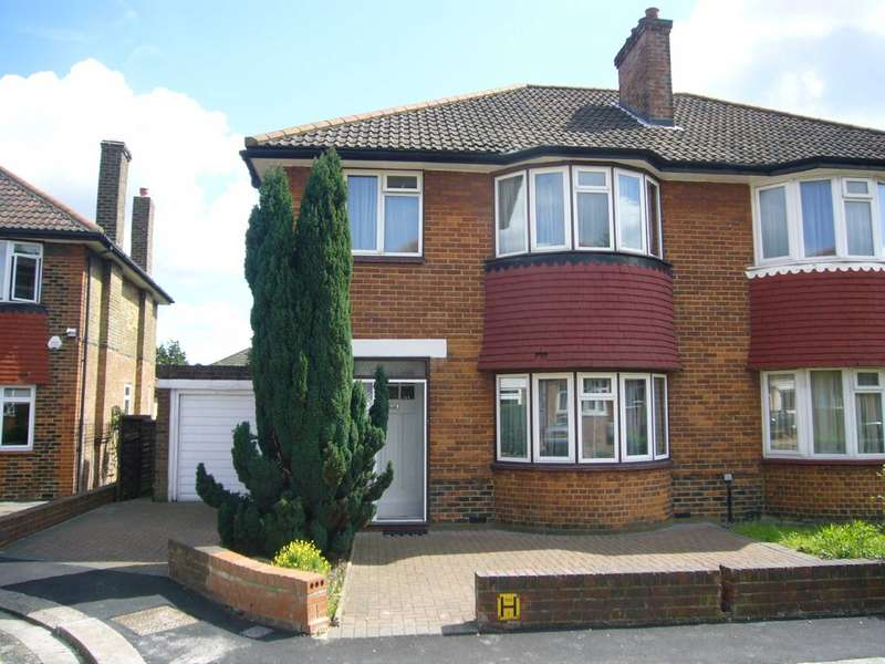 3 Bedrooms Semi Detached House for sale in Strelley Way, Acton